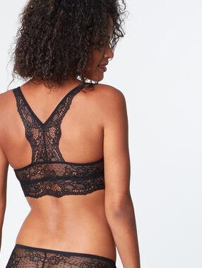 Push-up-bra black.