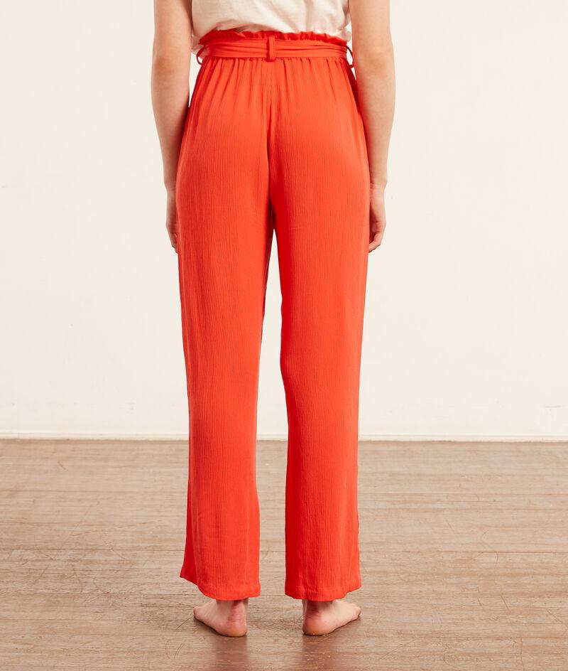 Tied pyjama pants;${refinementColor}