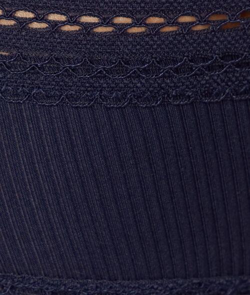 Micro short briefs, lace trims