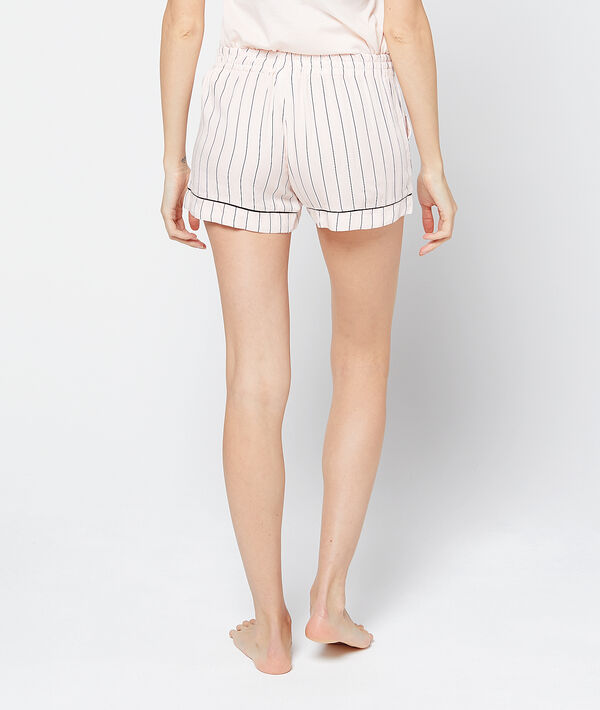 Striped pyjama short