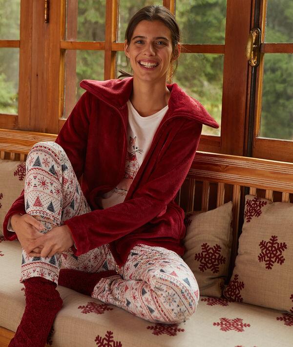 même pas froid' three-pieces pyjama