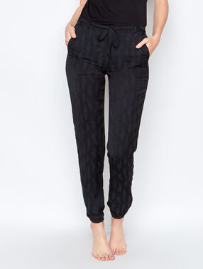 Pyjamapants black.