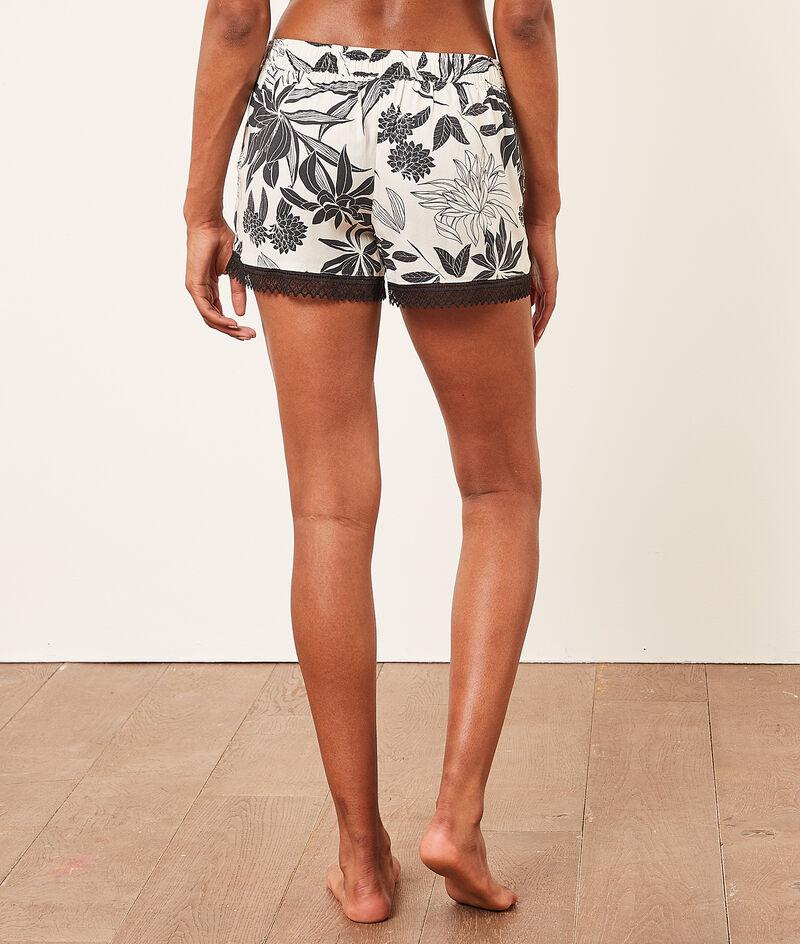 Print pyjama shorts;${refinementColor}