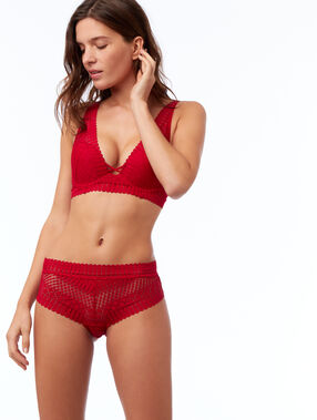 Lace knicker red.