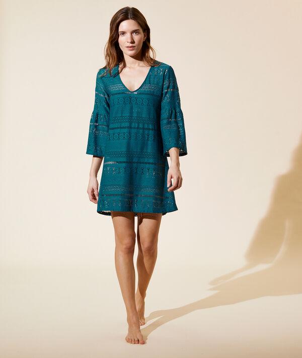 Crochet beach tunic;${refinementColor}