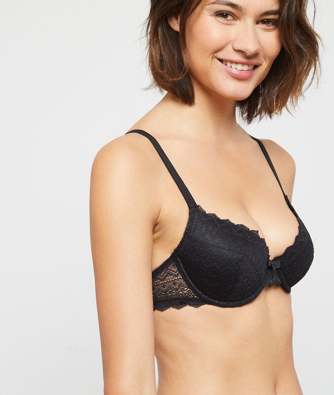 Bra no. 4 - lightly padded bra black.