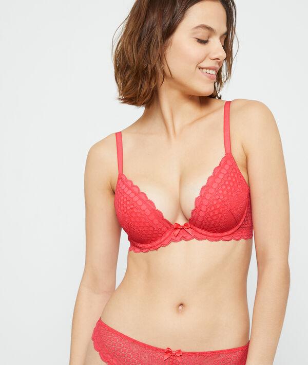 Plunge push-up bra n°2;${refinementColor}