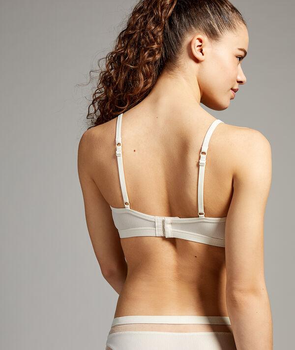 Microfiber bra;${refinementColor}