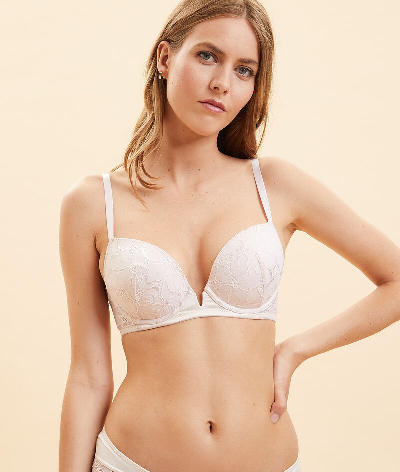 Bra no. 5 - push-up for a rounded shape;${refinementColor}