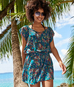 Beach tunic multicolor.