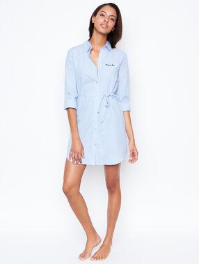 Nightdress blue.