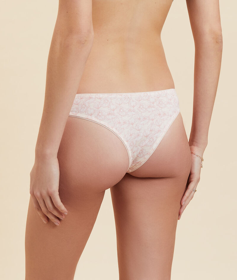 Pack of 7 thongs;${refinementColor}