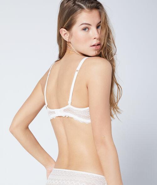 Demi-cup bra