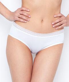 Micro shorts white.