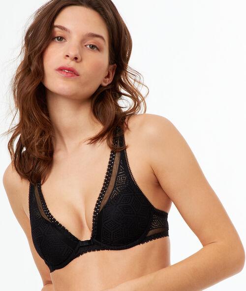 Light padded triangle bra