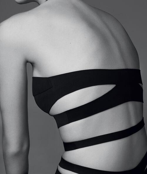 Neoprene strapped bodysuit