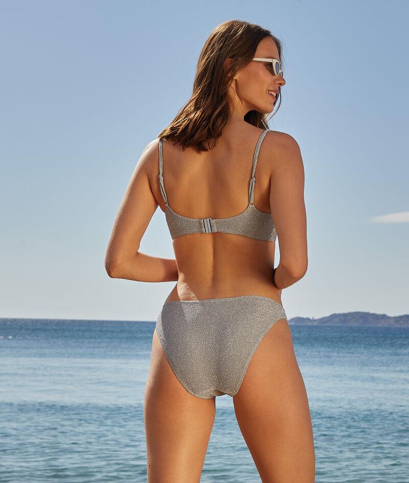 Iridescent bikini bottoms;${refinementColor}