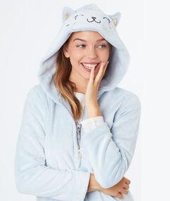 Caticorn pyjama vest blue.