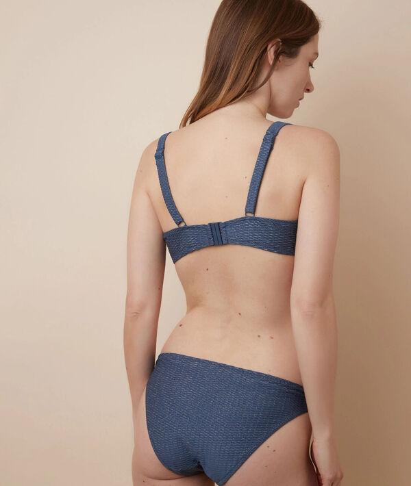Non padded bikini top;${refinementColor}