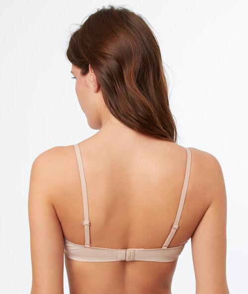 Micro demi cup bra