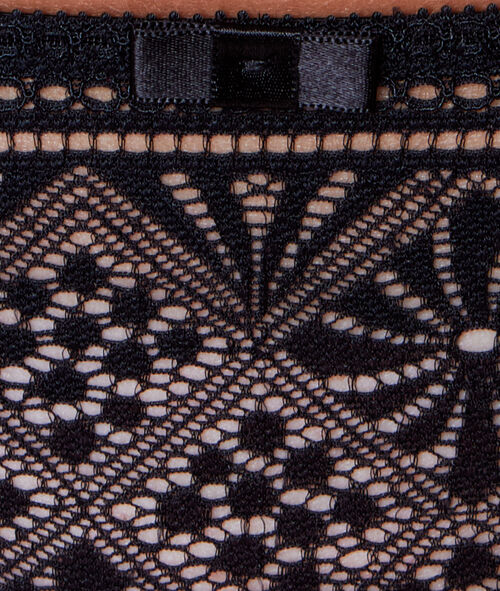 All-lace tanga
