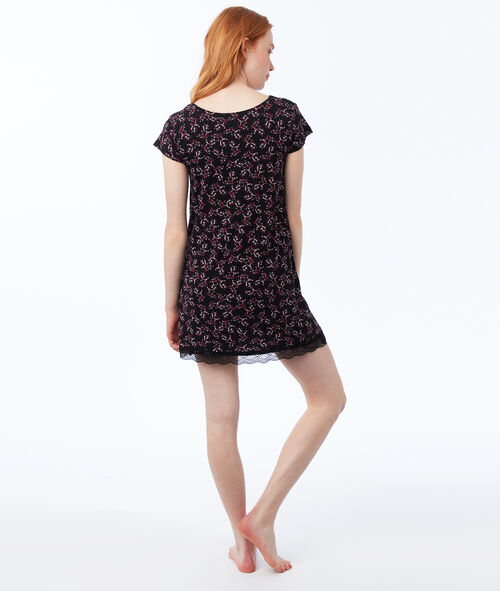 Printed nightdress