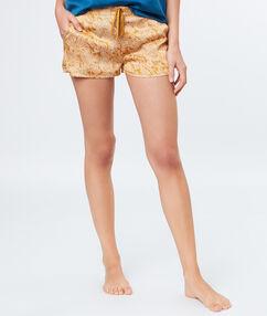 Pyjama short yellow.