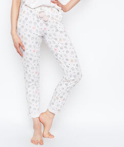 Pyjama pants white.