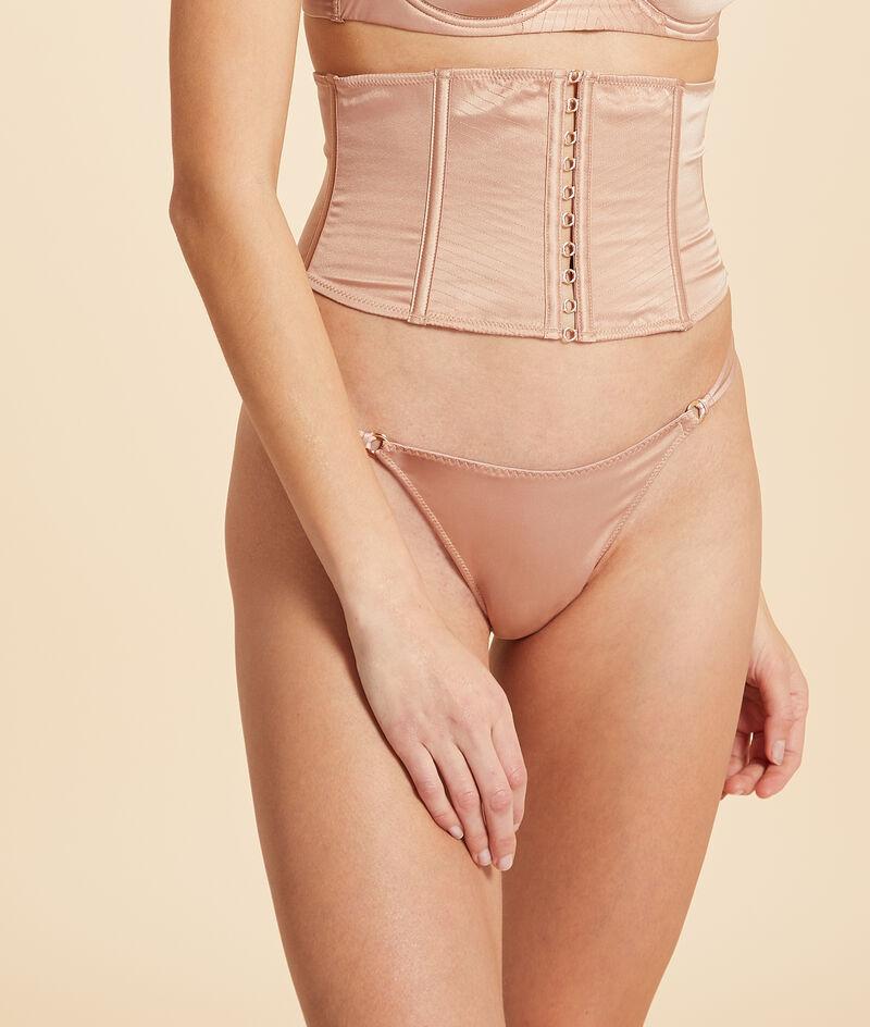 Silk waist cincher;${refinementColor}
