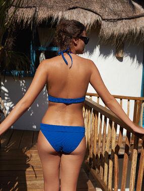 Bikini bottom blue.