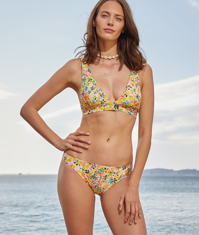 Triangle without underwire swimsuit;${refinementColor}