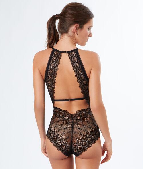 Padded lace bodysuit