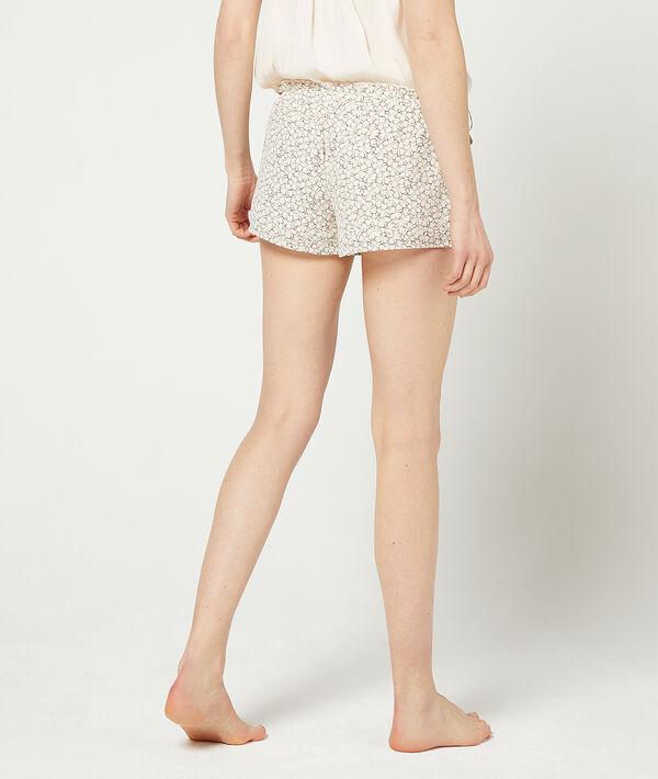 Floral print shorts;${refinementColor}