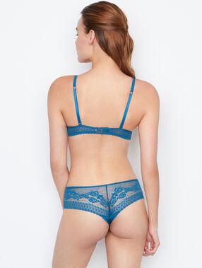 Shorty aus spitze blau.