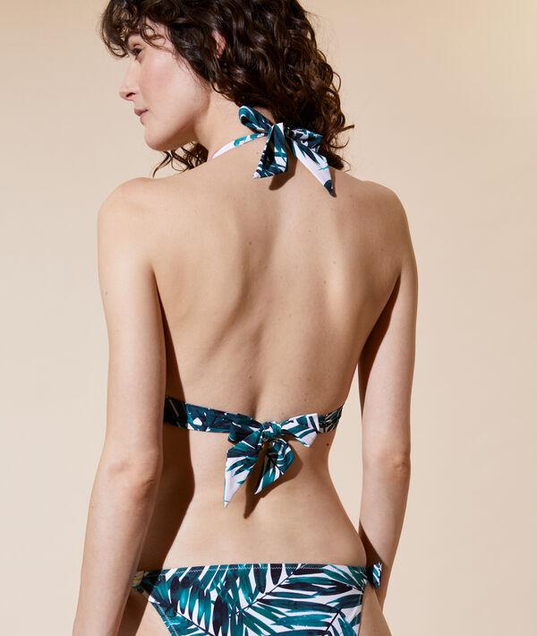 Triangle bikini top, removable pads;${refinementColor}