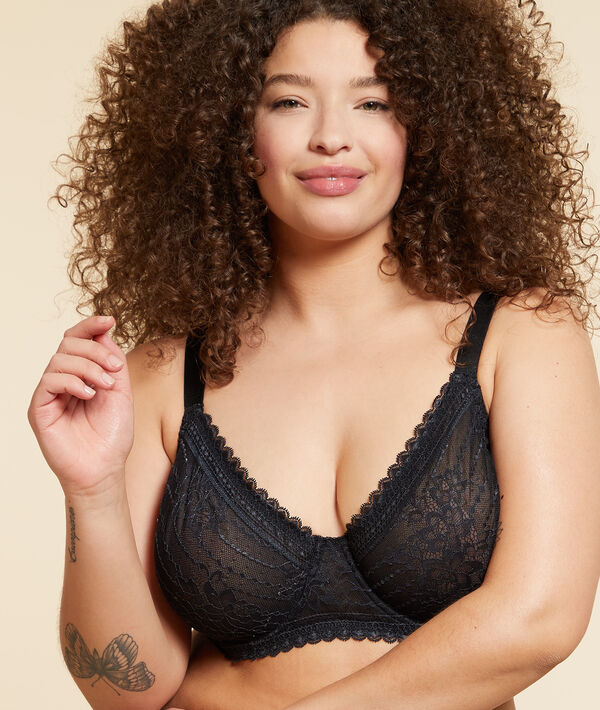 PANAMA Cup bra without cup effect -1 size;${refinementColor}