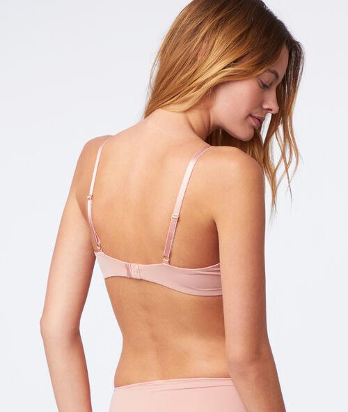 Bra no. 2 - Microfibre plunge push-up bra