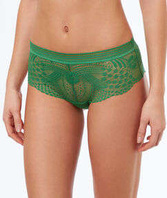 Lace shortys green nile.
