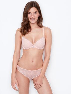 Vorgeformter-bh aus spitze rosa.