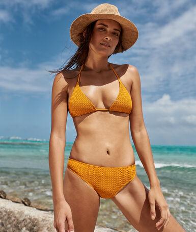Bikini bottom ocher.