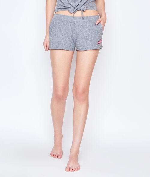 Printed pyjama short