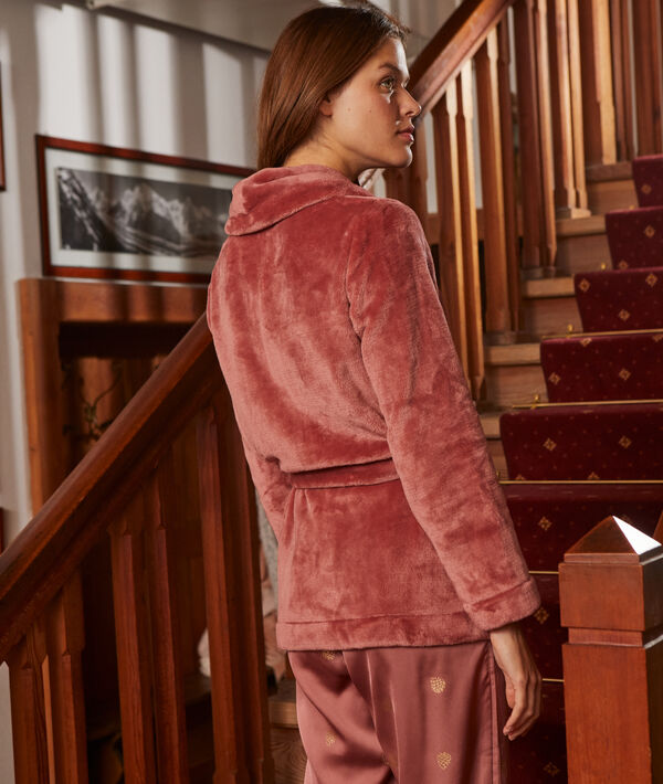 3-pieces pyjama with metallic detailing