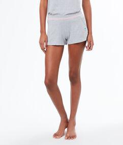 Plain shorts gray.