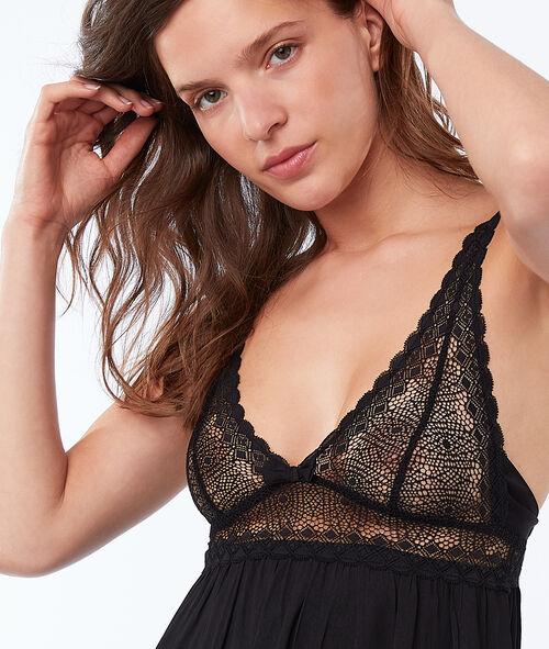 Lace nightdress