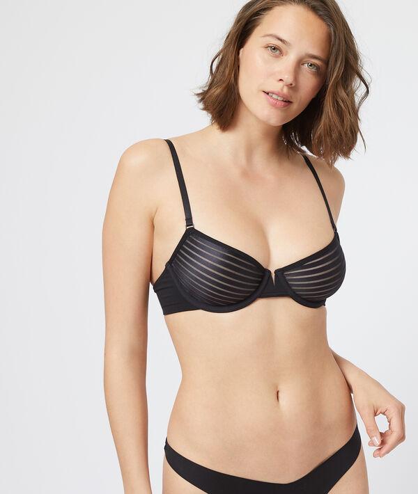 Invisible cup bra;${refinementColor}
