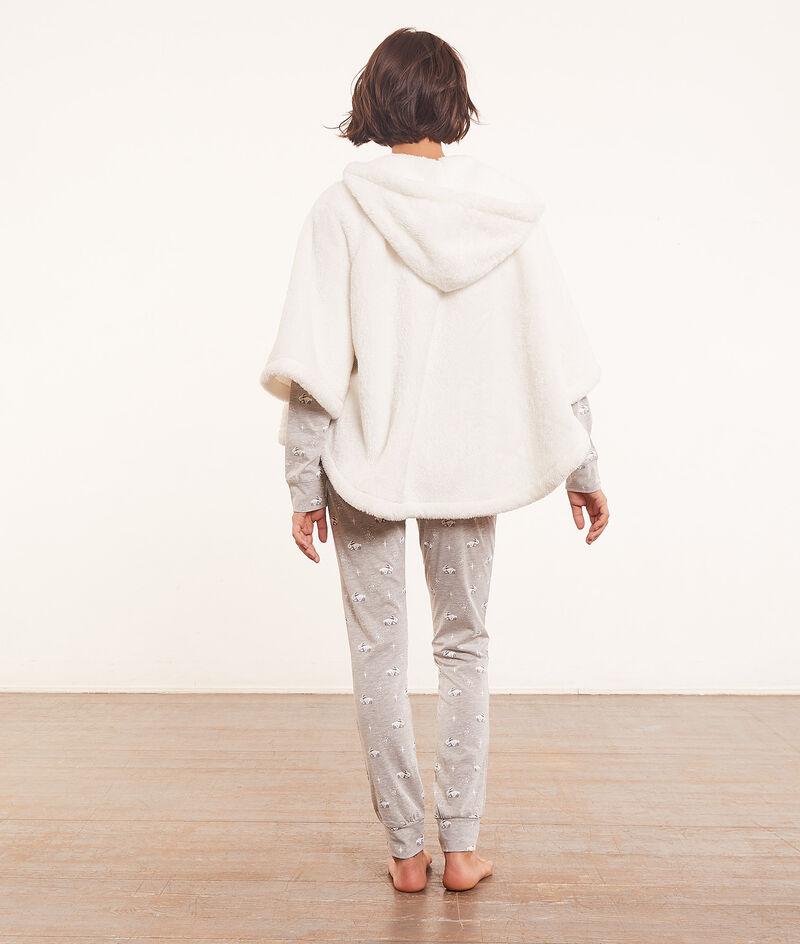 3-piece pyjama set with poncho ;${refinementColor}