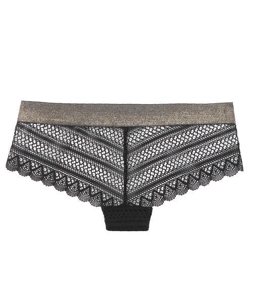 Lace shorts, iridescent sides