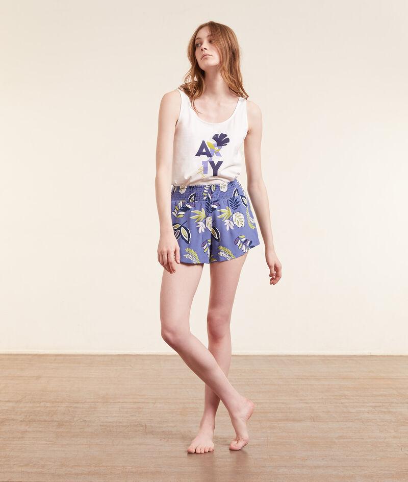 Print pyjama shorts ;${refinementColor}