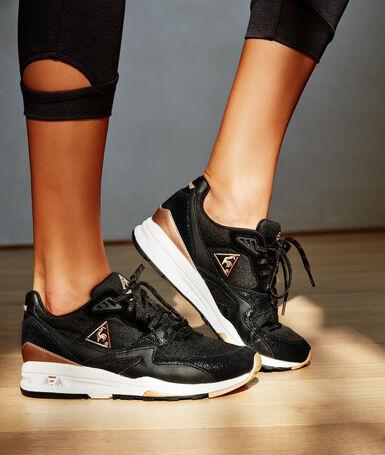 Le coq sportif x etam sneakers black.