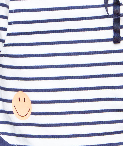 Printed Smiley pyjama shorts